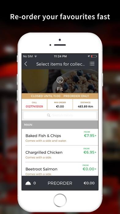 Fit Food London screenshot three