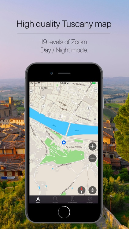 Tuscany Offline Navigation screenshot-1