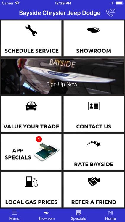 Bayside Chrysler Jeep Dodge Screenshot 0