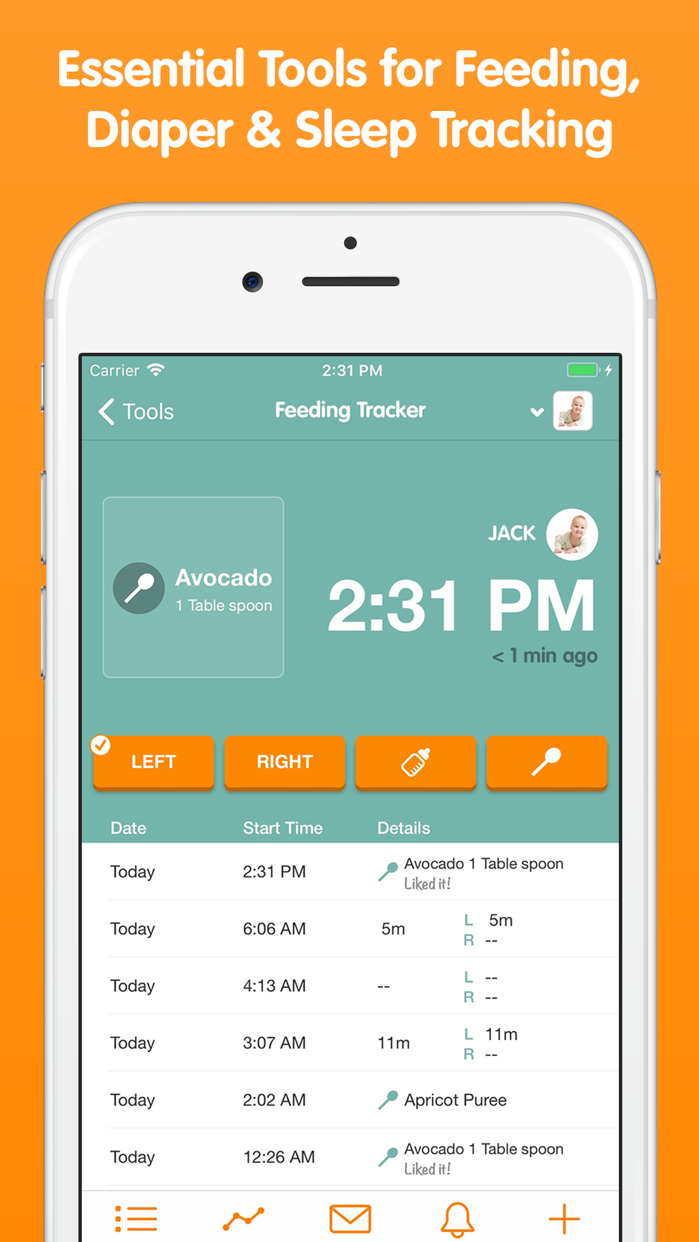 Sprout Baby + (Baby Tracker) Screenshot