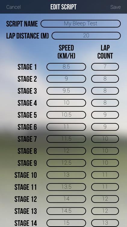 Team Bleep Test screenshot-4