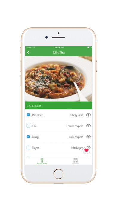 Screenshot #7 for Easy Meal Recipes Menu Planner