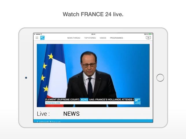 france24 widget