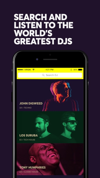 iam.dj - All the greatest DJs in one place