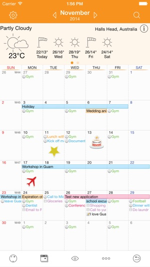 Awesome Calendar Screenshot