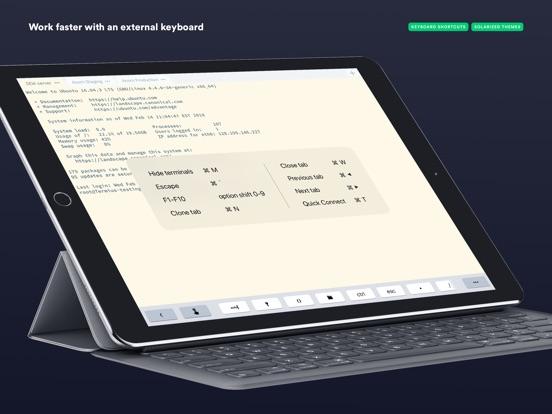 Termius - SSH client iPad