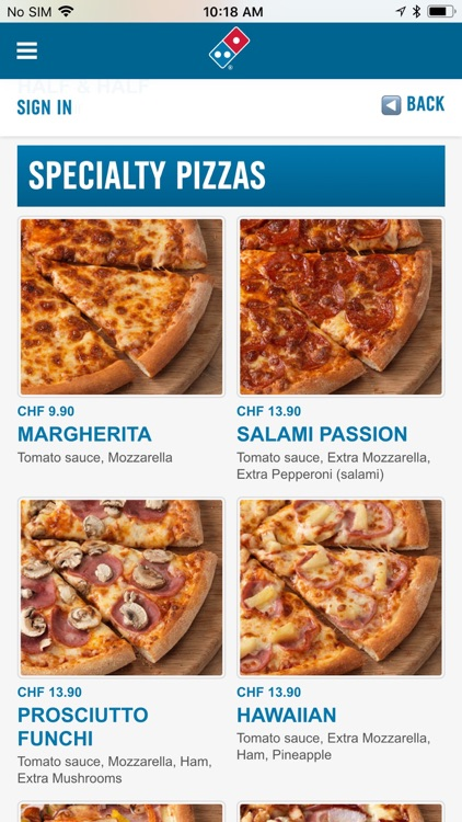 Domino's Pizza Switzerland