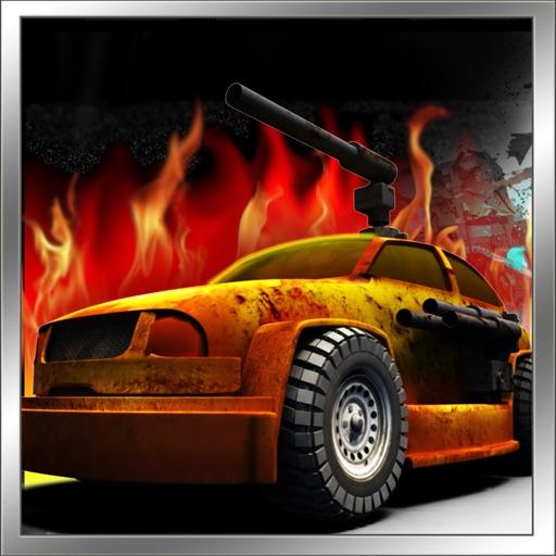 Apocalypse Clash City 2 : A Cyberpunk Clan War Death Race 3D iOS App