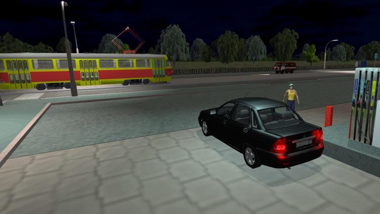 Real City Russian Car Driver screenshot-4