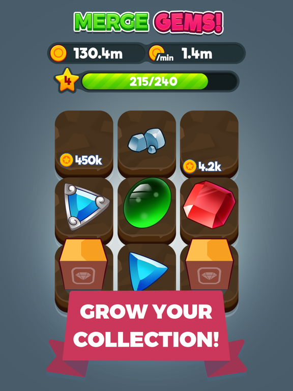 Merge Gems! by Gram Games (iOS, United States) - SearchMan App Data