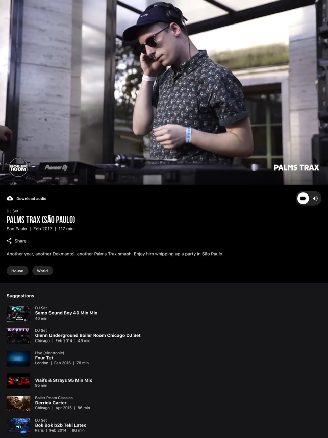 Boiler Room on the App Store