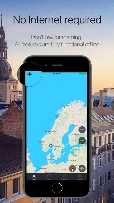 Norway Offline Navigation Screenshot
