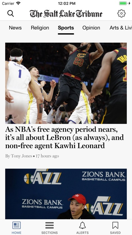 Salt Lake Tribune screenshot-1