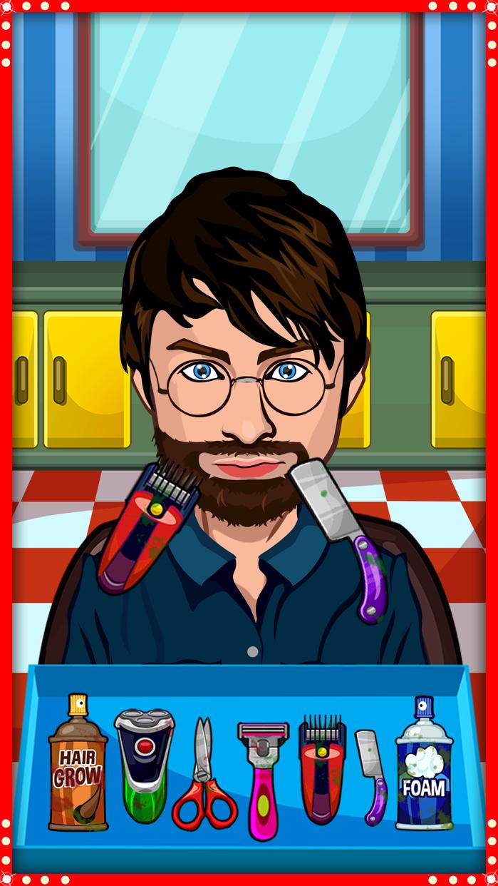 Celebrity Shave - Shaving Game Screenshot