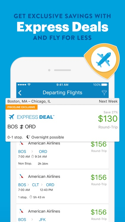 Priceline Hotel Deals, Rental Cars & Flights screenshot-3