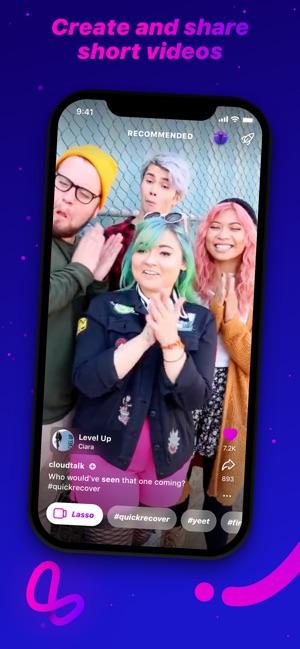 Lasso – short, fun videos Screenshot