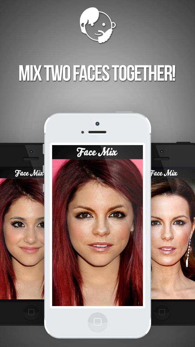 フェイスミックス:友達と顔をスイッチのおすすめ画像1