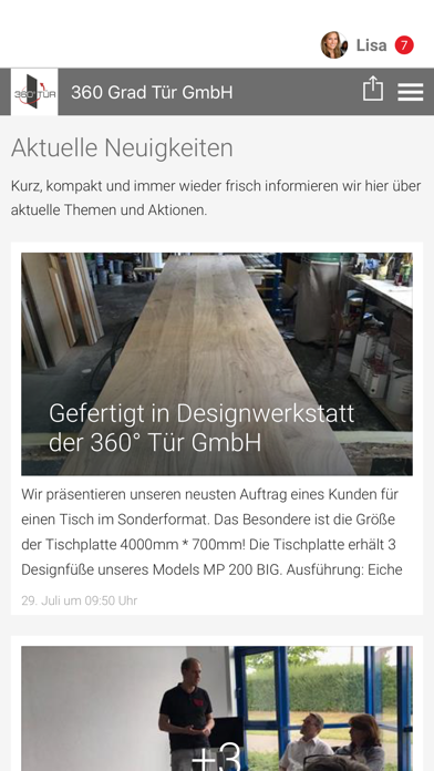 360 Grad Tür GmbH screenshot 1