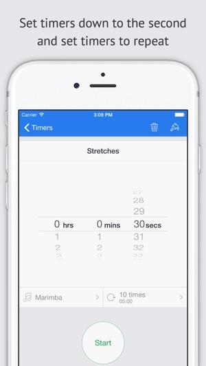 set a timer for 9 minutes