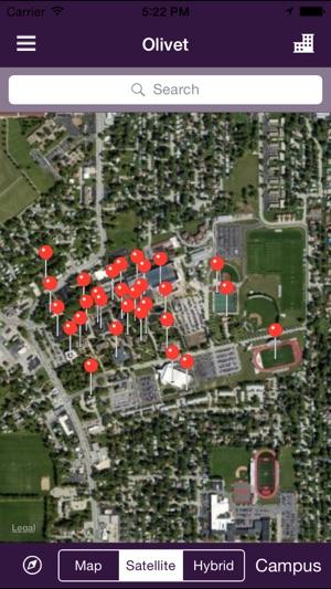 Olivet Campus Map.Olivet On The App Store