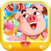 粉红小猪开心过元宵节