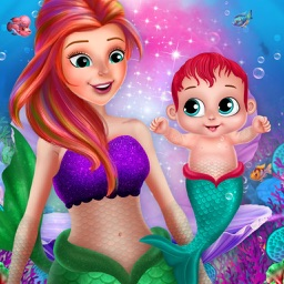 Little Mermaid Cute Baby Care