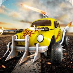 Mini car fight: Race and Shoot