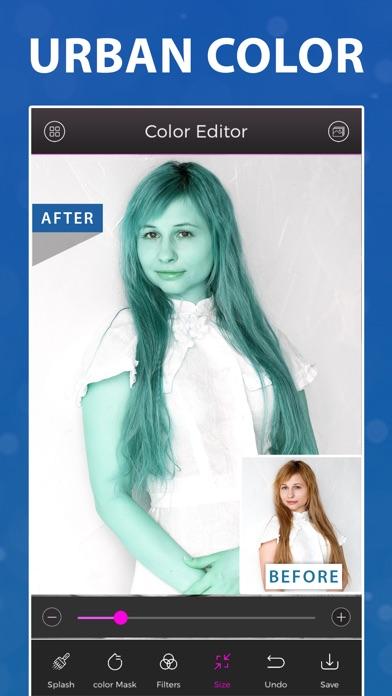 Fresh Hair Color Editor Online Free