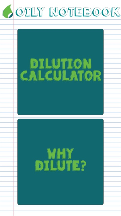 Oil Dilution Calculator screenshot-0
