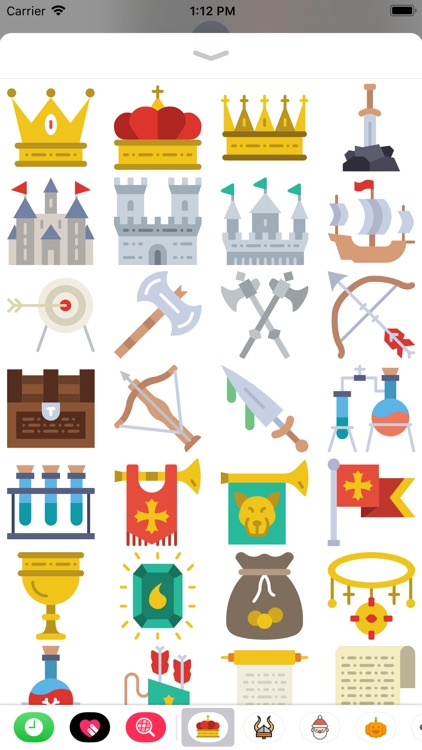 Medieval Stickers