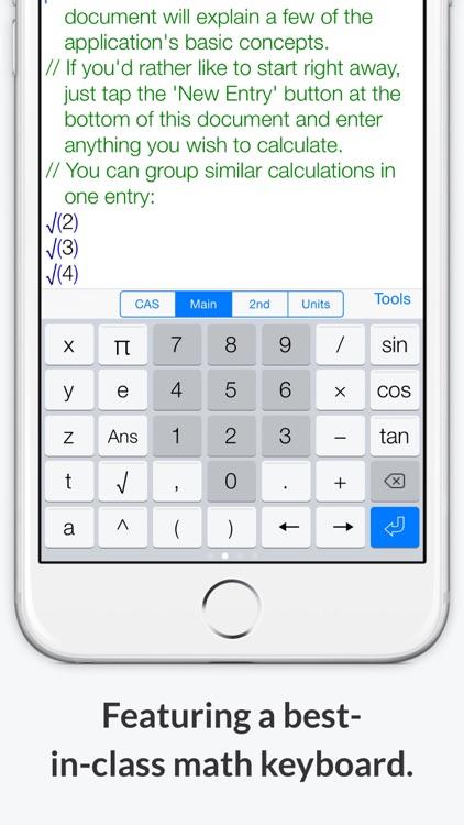 PocketCAS: Mathematics Toolkit screenshot-3