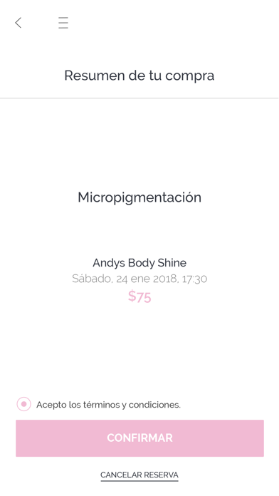 Andys Body Shine screenshot one