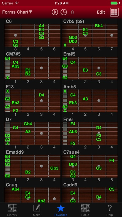 Guitar Kit - Guitar Chords screenshot-1