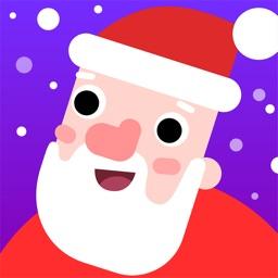 Sleeps to Xmas Santa Countdown