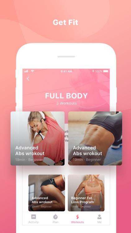 Women Fitness - Female Workout screenshot-3