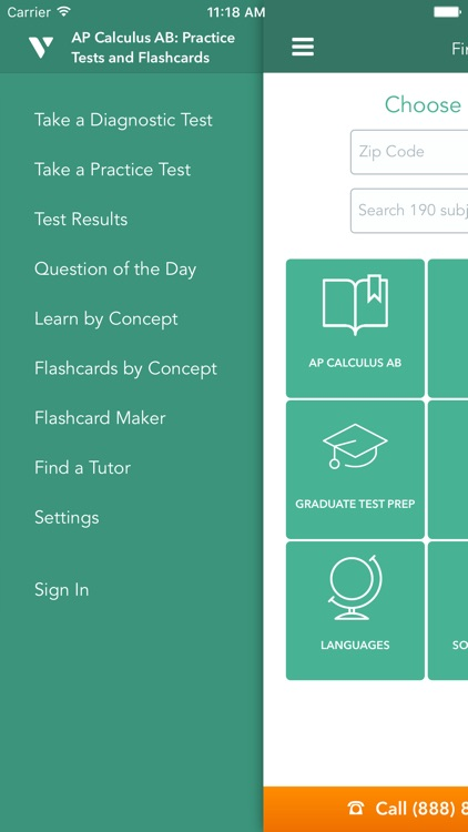 AP Calculus AB: Practice Tests and Flashcards