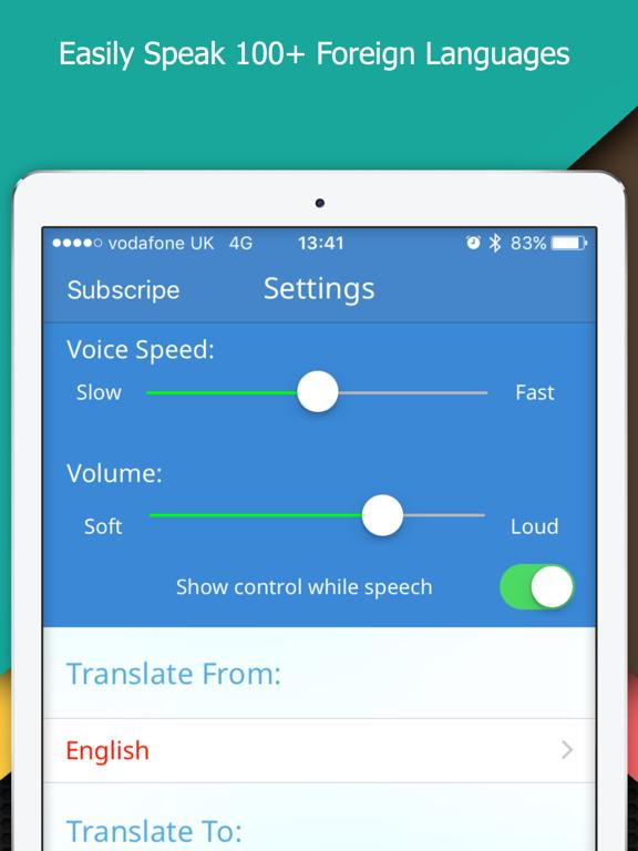 Multi Translate Voice: Say It Screenshots