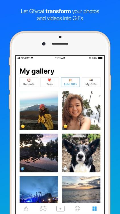 Gfycat: GIFs, stickers & memes screenshot-3