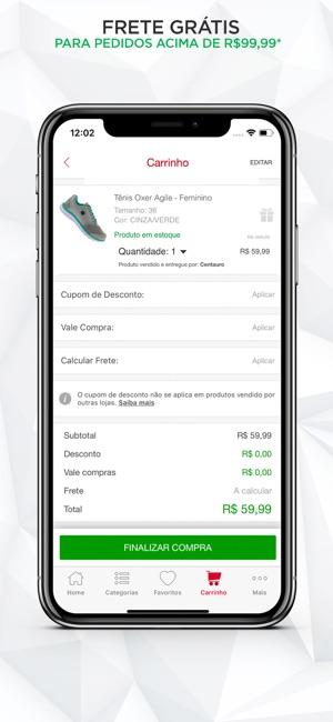 607ca95e4 Centauro Esportes na App Store