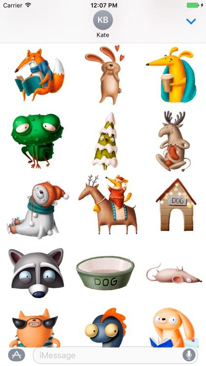 Funny Cute Animals - Emojis