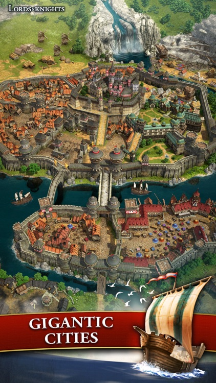 Lords & Knights - Medieval Strategy MMO screenshot-3