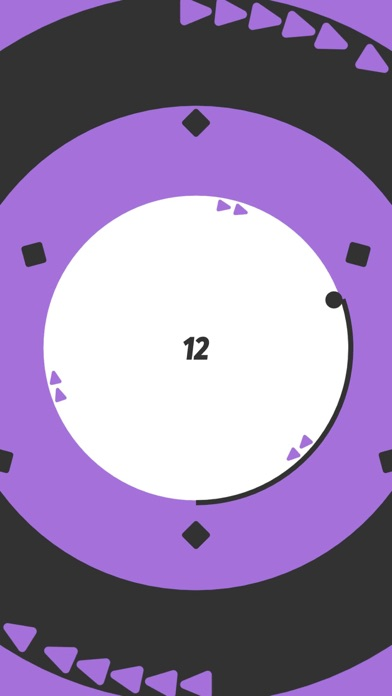 Circle Around! Color Game Screenshot on iOS