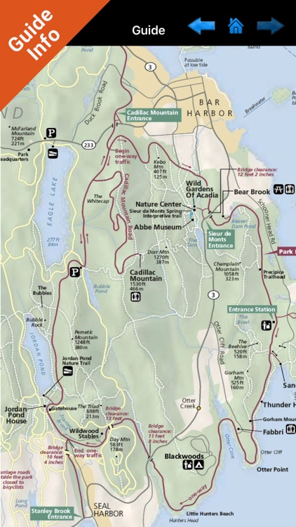Acadia National Park GPS and outdoor map screenshot-3
