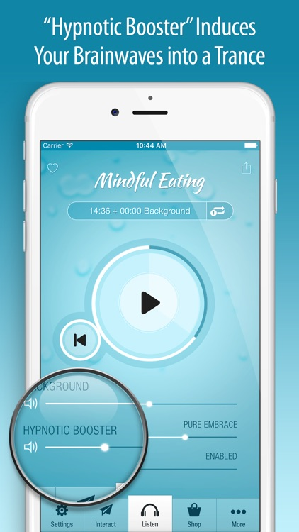 Mindful Eating Hypnosis PRO screenshot-3