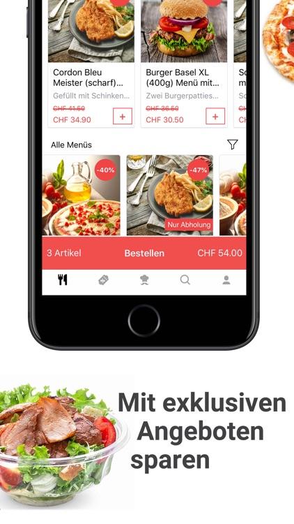 BRING8: ordering food