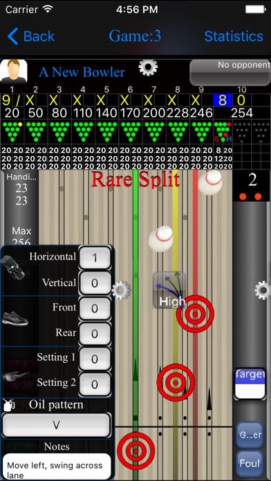 Bowlsheet review screenshots
