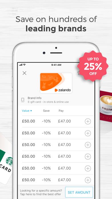 Zeek: Buy & Sell Gift Cards screenshot three