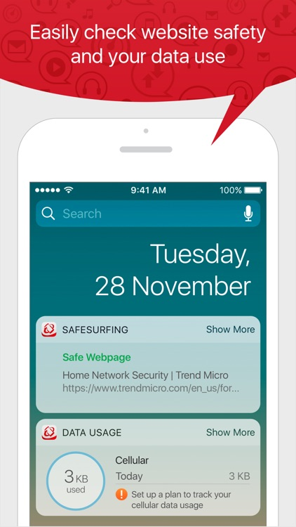 TM Mobile Security - WebFilter screenshot-4