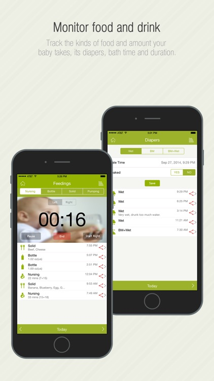 Babycare Tracker Pro screenshot-1