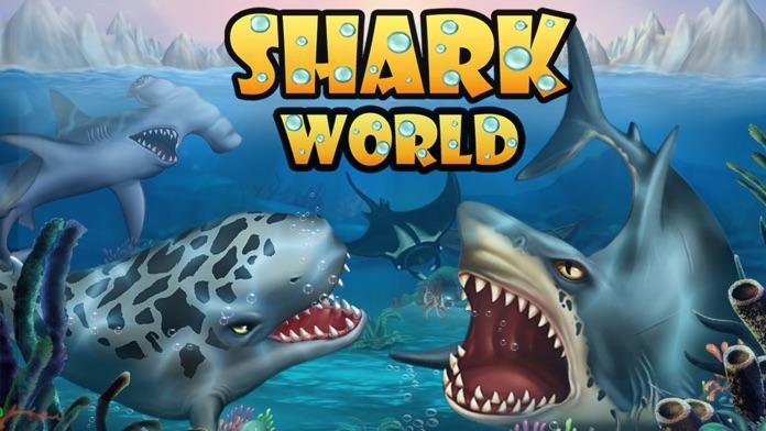 SHARK WORLD -water battle game Screenshot